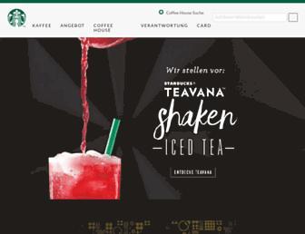 Thumbshot of Starbucks.ch