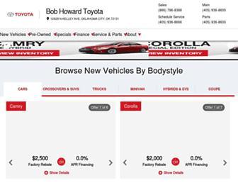 bobhowardtoyota.com screenshot