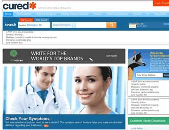 Thumbshot of Cured.com