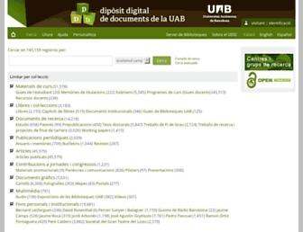 ddd.uab.cat screenshot