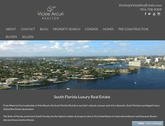 vickierealestate.com screenshot