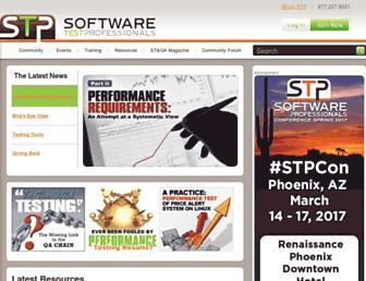 softwaretestpro.com screenshot