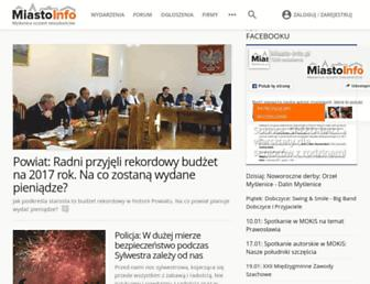 Thumbshot of Miasto-info.pl