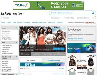 Thumbshot of Ticketmaster.ie