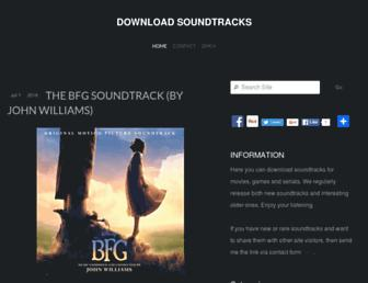 download-soundtracks.com screenshot