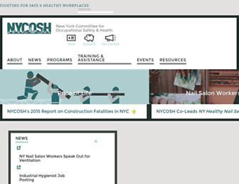 nycosh.org screenshot