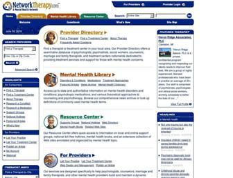 Thumbshot of Networktherapy.com