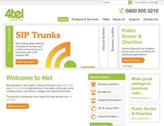 4telgroup.com screenshot