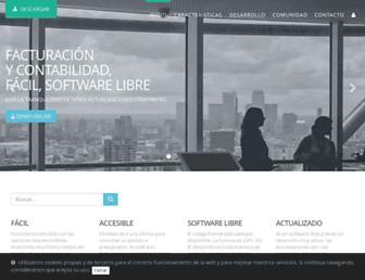 facturascripts.com screenshot