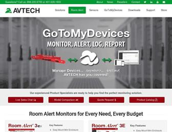 avtech.com screenshot
