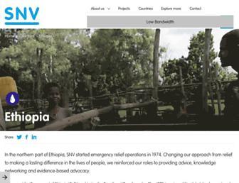 sustainable-ethiopia.com screenshot