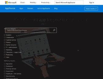 appsource.microsoft.com screenshot