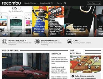 Thumbshot of Recombu.com