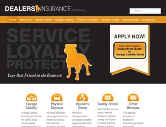 dealers-insurance.com screenshot