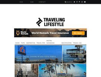 travelinglifestyle.net screenshot