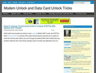datacardunlocktricks.blogspot.com screenshot