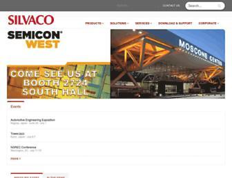 silvaco.com screenshot