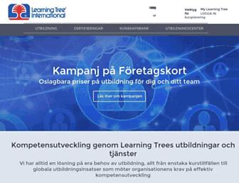 learningtree.se screenshot