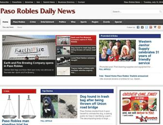 Thumbshot of Pasoroblesdailynews.com