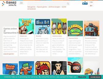 gamesonline.fm screenshot