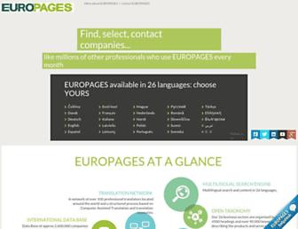 Thumbshot of Europages.com