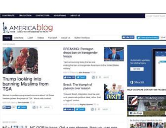 Thumbshot of Americablog.com