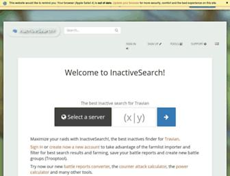 inactivesearch.it screenshot