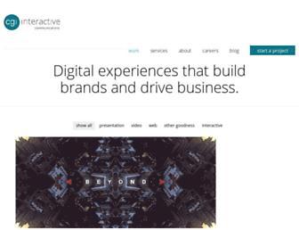cgiinteractive.com screenshot