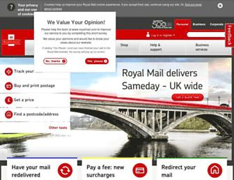 Thumbshot of Royalmail.com