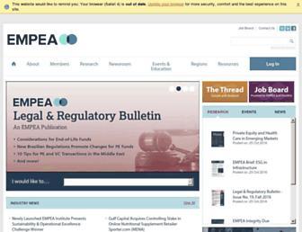 empea.org screenshot