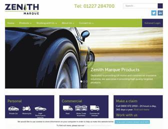 zenithmarque.com screenshot