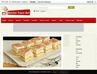 retetepapabun.ro screenshot