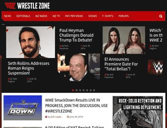Thumbshot of Wrestlezone.com