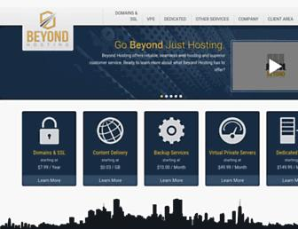 Thumbshot of Beyondhosting.net