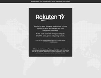 rakuten.tv screenshot