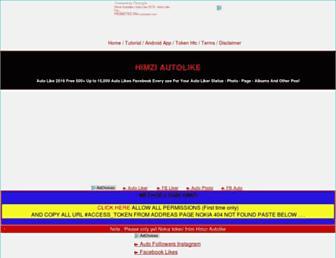 m-autoliker.com screenshot