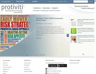 protiviti.com screenshot