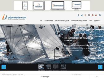 adonnante.com screenshot