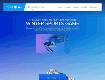 snowthegame.com screenshot
