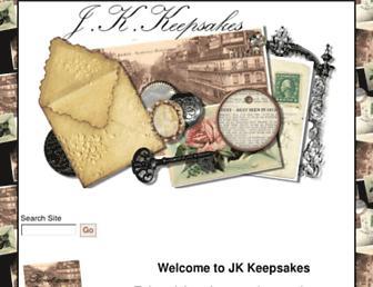 jkkeepsakes.com screenshot
