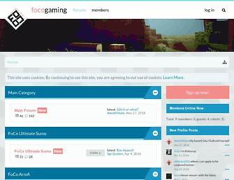 forum.focogaming.com screenshot