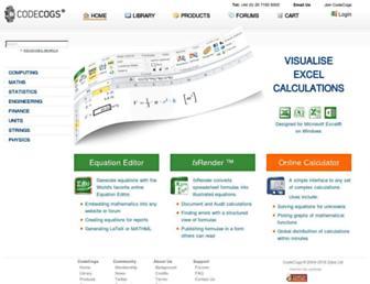codecogs.com screenshot