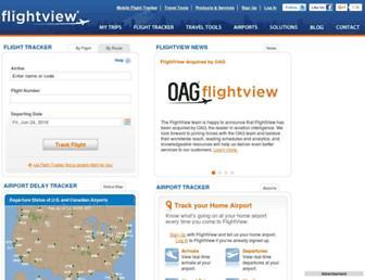 Thumbshot of Flightview.com
