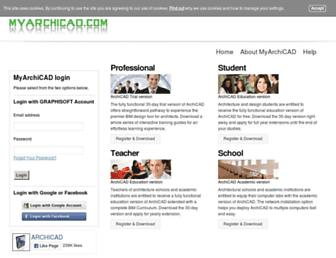 myarchicad.com screenshot