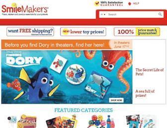 smilemakers.com screenshot
