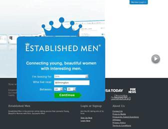 Thumbshot of Establishedmen.com