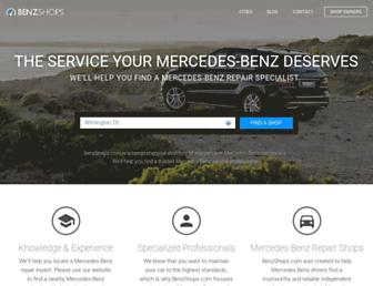 benzshops.com screenshot