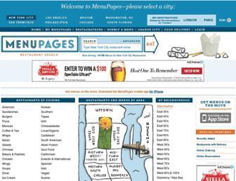 Thumbshot of Menupages.com