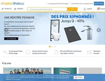manomano.fr screenshot