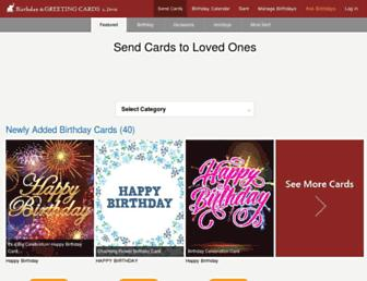holidaycardsapp.com screenshot